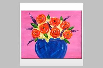 "Paint & Sip - ""Roses"""