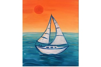 "Paint & Sip - ""Smooth Sailing"""
