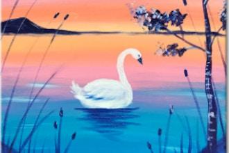 "Paint & Sip -  ""Swan Lake"""