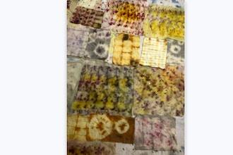 V-Composting Color: Natural Dyeing with Food Waste