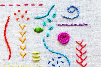 Intro to Embroidery (All Ages)