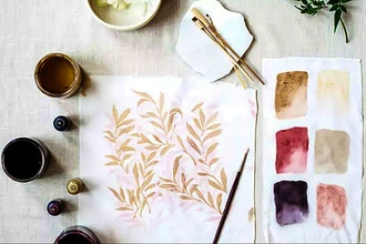 Painting with Natural Dye