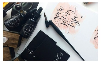 Intro to Calligraphy with Angelique Ink