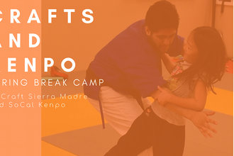 Crafts and Kenpo Spring Break