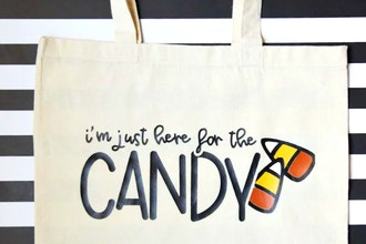 Halloween Tote Bag with Cricut