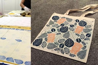 Hand-Block-Printing Workshop (Print your own Tote Bag)