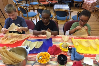 Kids' Multicultural Cooking Camp: Cooking and Baking