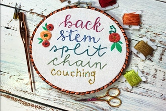 Embroidered Calligraphy