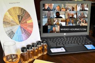 Online Whiskey Tasting At Home