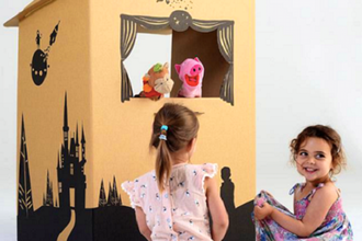 Holiday Puppet Palace for Kids and Parents