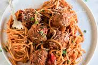 Monday Night Dinner: Spaghetti & Meatballs