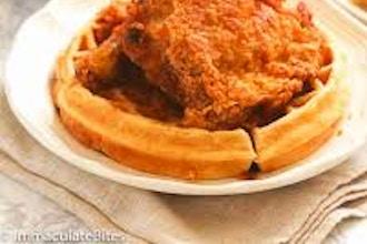 Sourdough Waffles & Fried Chicken
