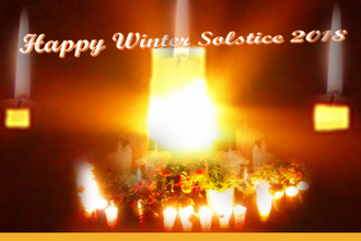 Winter Solstice Despacho Celebrating Light