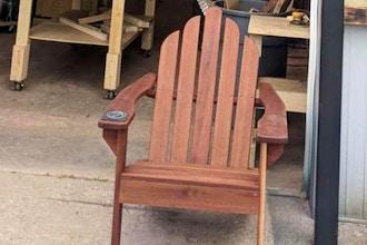 Woodworking Retreat: Level 3 Adirondack Chair