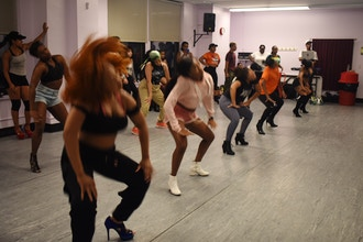 Soca N Sweat Virtual Class Led by @Bambaii