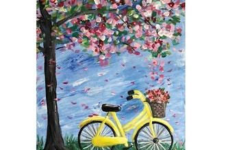 Virtual Paint Nite: Bike Under Sheltering Tree (13+)