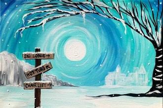 Paint Nite: Winter Vacation