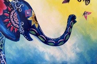 All Ages Paint Nite: Boho Elephant