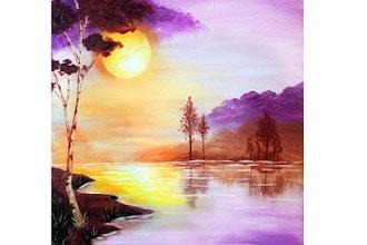 Virtual Paint Nite: Sunrise Lake (Ages 13+)