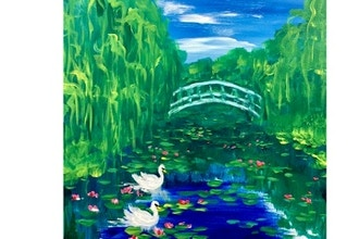 Virtual Paint Nite: Swans on Monet's Pond (Ages 6+)