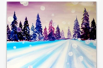 Paint Nite: A New Year Begins