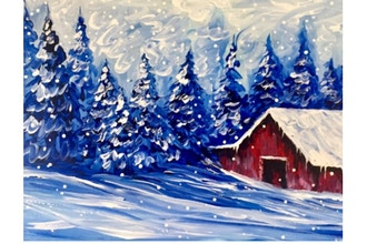 Virtual Paint Nite: A Northern Winter