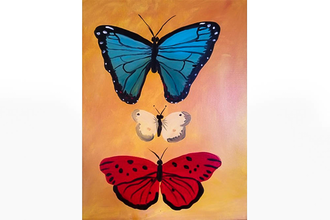 All Ages Paint Nite: Butterfly Collection