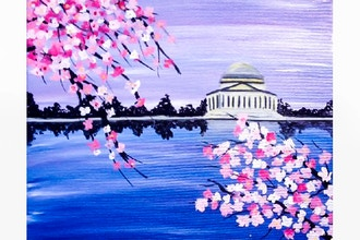 Paint Nite: DC Cherry Blossoms (Ages 18+)