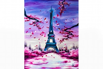 All Ages Paint Nite: Lovely Paris II