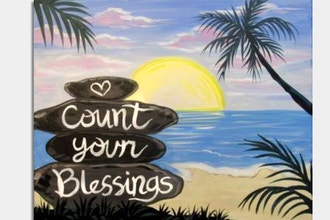 Paint Nite: Always Count Your Blessings