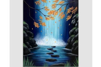 Paint Nite: Autumn Falls III