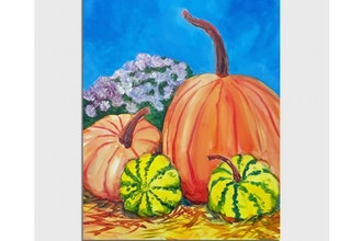 Paint Nite: Autumn Farm Harvest