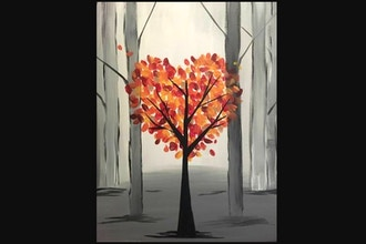 Virtual Paint Nite: Autumn Love II (Ages 13+)