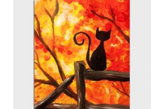 Paint Nite: Autumn View