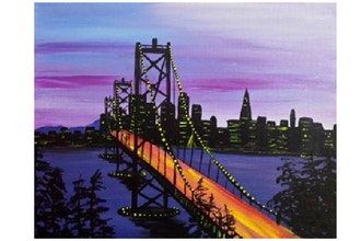 Paint Nite: Bay Bridge At Dawn