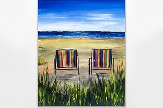 Paint Nite: Beach Chairs