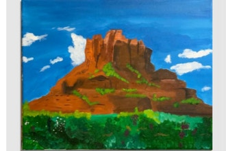 Virtual Paint Nite: Bell Rock Sedona