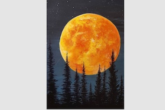 Paint Nite: Blood Moon Rising