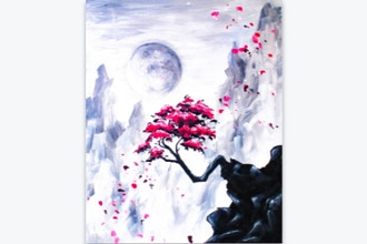 Paint Nite: Blossom Cliffs