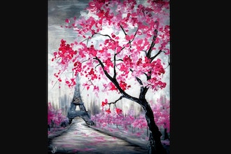 Paint Nite: Blossoms in Paris V