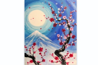 Paint Nite: Blossoms in Bloom