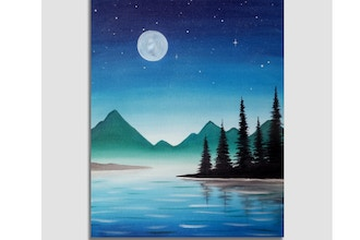 Paint Nite: Blue Summer Night
