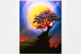 Paint Nite: Bonzai Moon