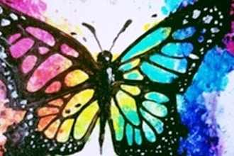 Paint Nite: Born This Way Butterfly