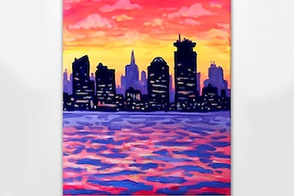 Paint Nite: Boston Sunset