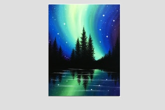 Paint Nite: Bright Northern Night