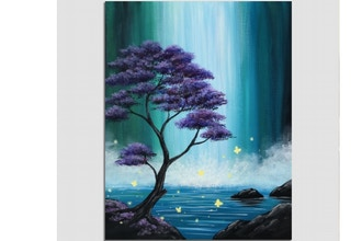 Paint Nite: Butterfly Falls
