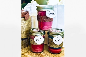 Candle Maker: Jelly Jar Scents - Candle Making Classes New