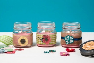 Candle Maker: Scents in Mason Jars
