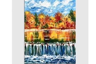 Paint Nite: Cascading Autumn